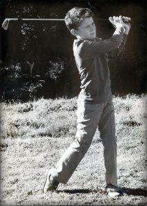Brendan McDaid Young Golfer