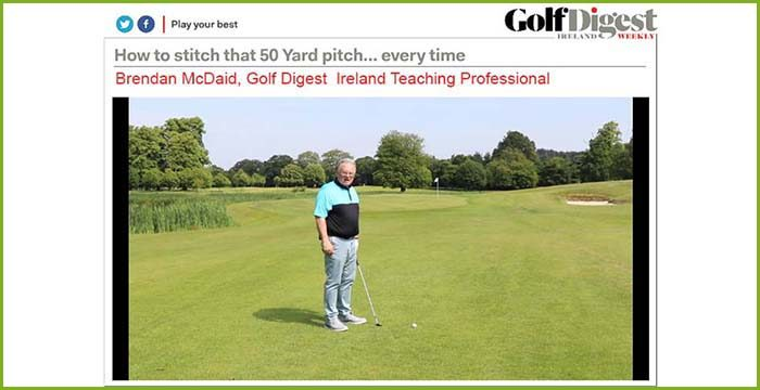 Golf Digest Ireland Teaching Professional