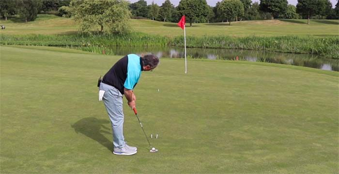 How to sink more breaking putts